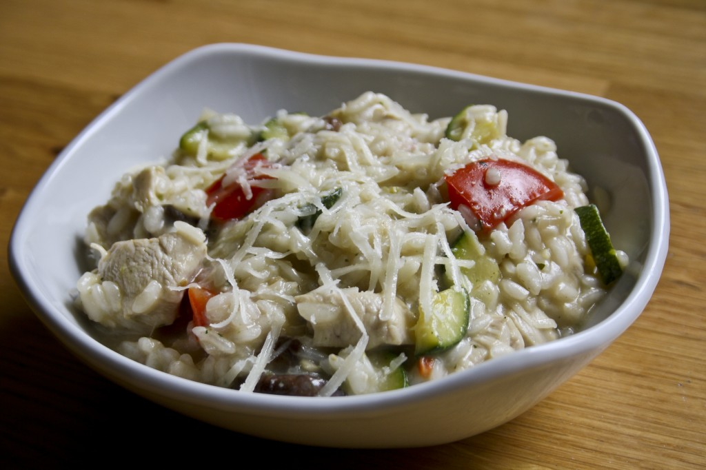 Chicken and Vegetable Risotto