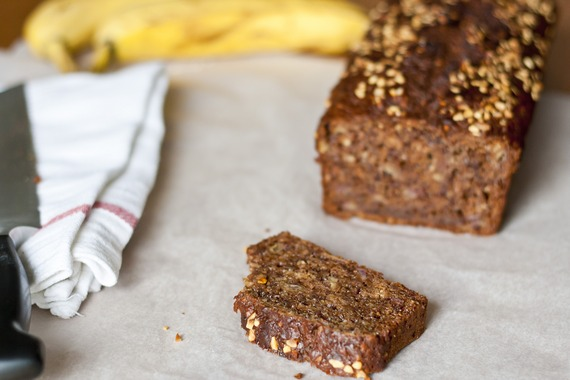 Nutella Hazelnut Banana Bread