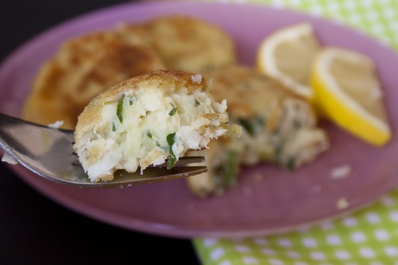 Fish and Potato Patties