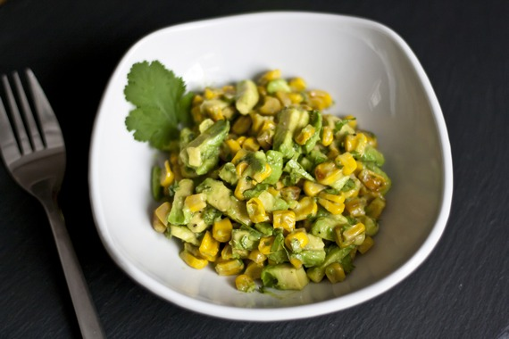 Grilled Corn and Avocado Salad | My Little Gourmet