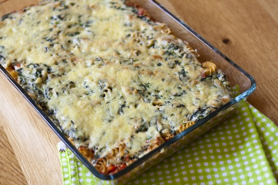 Cheesy Tuna Pasta Bake | My Little Gourmet