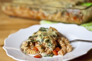 Cheesy Tuna Pasta Bake