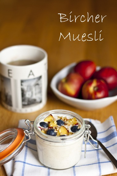 Bircher Muesli : The original overnight oats recipe - My Little Gourmet