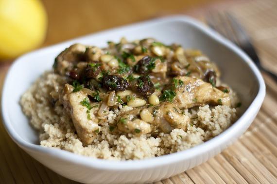 Easy Moroccan Chicken | My Little Gourmet