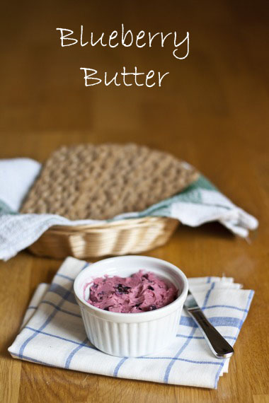 Blueberry Butter | My LIttle Gourmet
