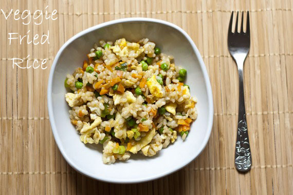 Kid-friendly Vegetable Fried Rice | My Little Gourmet