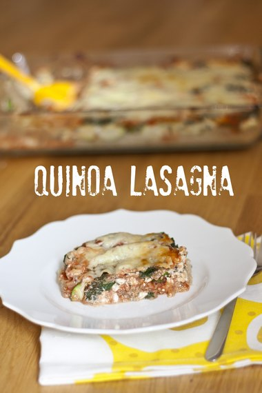 Quinoa Lasagna | My Little Gourmet