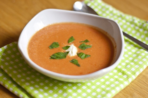 Creamy 10-Minute Tomato Soup | My Little Gourmet