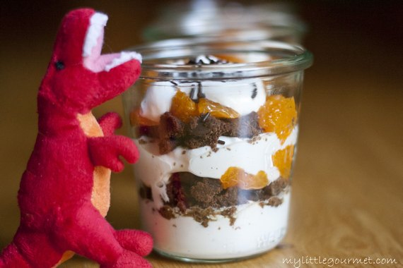An easy-to-make yogurt parfait dessert from mylittlegourmet.com