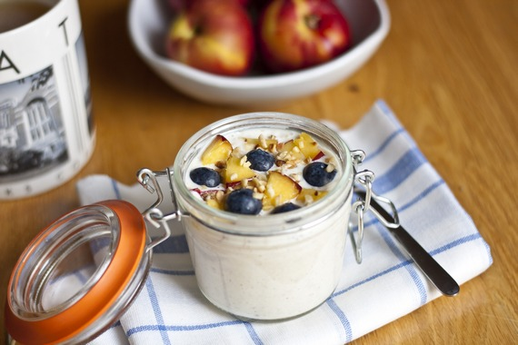 Bircher Muesli The Original Overnight Oats Recipe My Little Gourmet